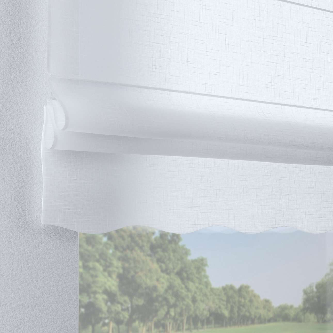 Florence roman blind  80 × 170 cm (31.5 × 67 inch) in collection Romantica, fabric: 128-77