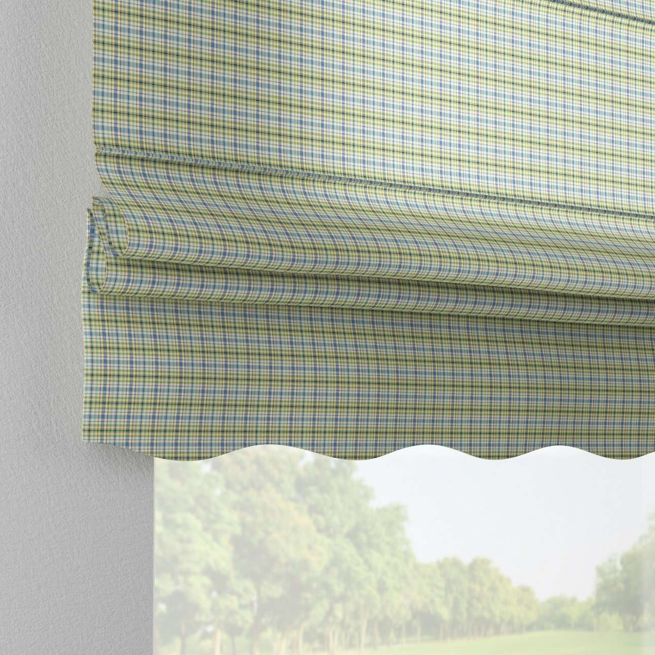 Florence roman blind  80 x 170 cm (31.5 x 67 inch) in collection Bristol, fabric: 126-69