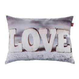 Pagalvės užvalkalas Love 60x40 cm