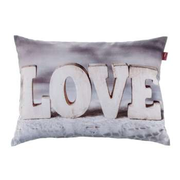 Love Print Cushion Cover 60x40 cm