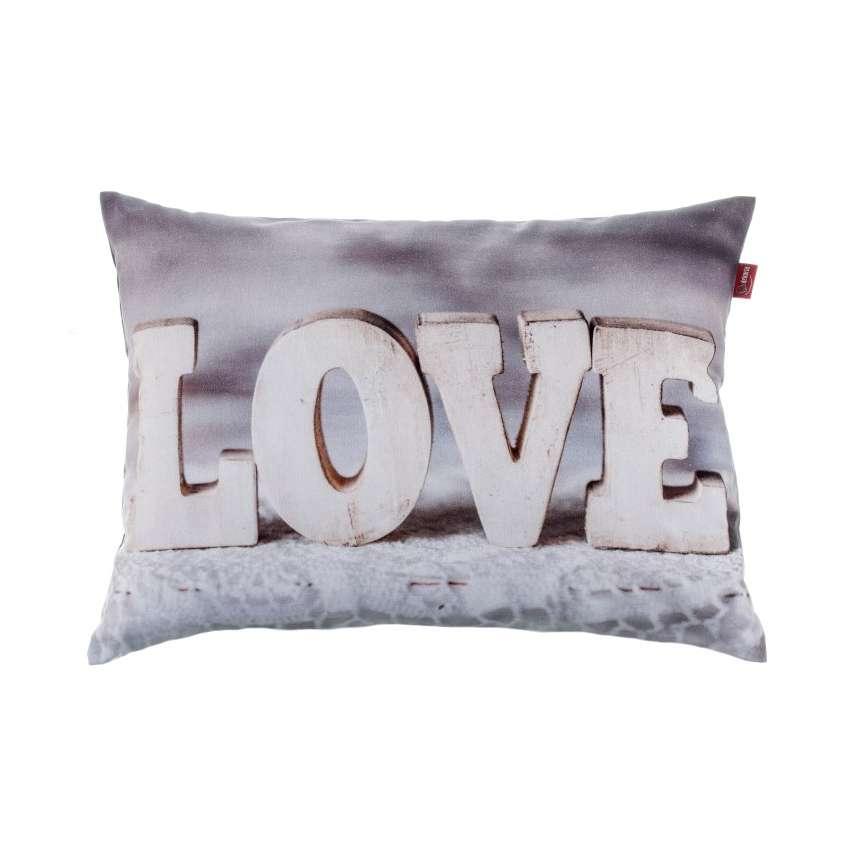 deko kissenh lle love 60x40 cm dekoria. Black Bedroom Furniture Sets. Home Design Ideas