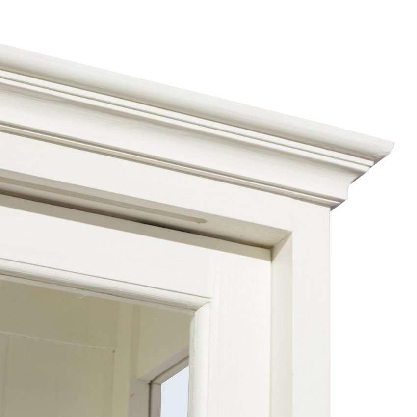 Kredens Brighton 240x45x240cm white