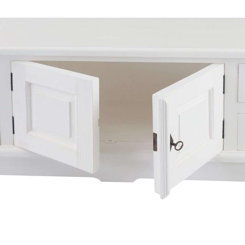 Szafka RTV Brighton 160x40x50cm white 160x40x50cm