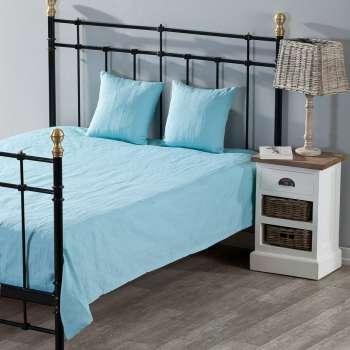 Schlafzimmer Set Milena turquoise 150x250cm Plaid + 2 Kissenhüllen