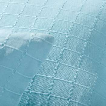Komplet Milena turquoise 150x250cm pled + 2 poszewki 150x250cm