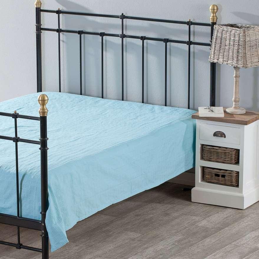 Lovatiesės komplektas Milena turkio spalvos 180x250cm lovatiesė + 2 pagalvėlių užvalkalai 180x250cm