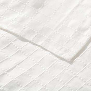 Komplet Milena white 150x250cm pled + 2 poszewki -50% 150x250cm