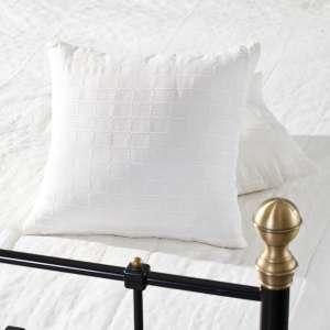 Komplet Milena white 180x260cm pled + 2 poszewki 180x260cm