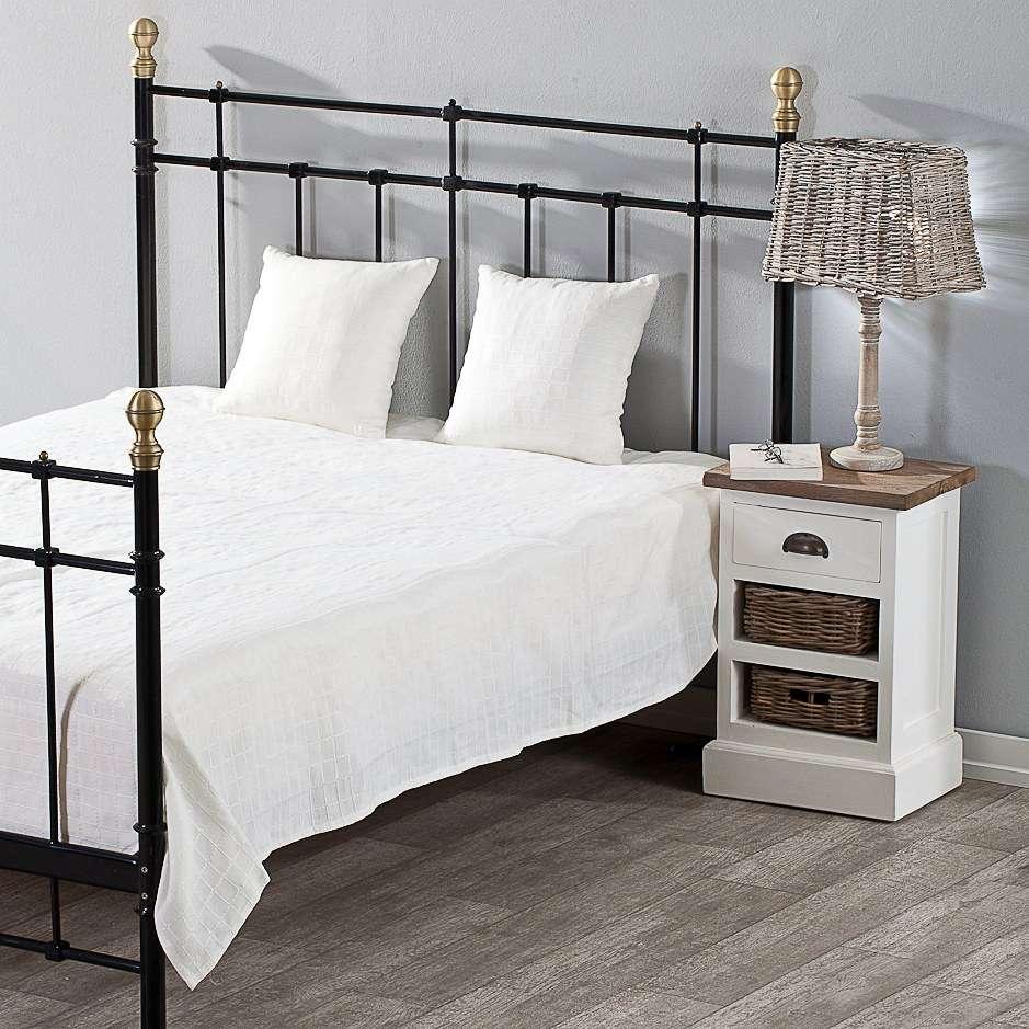Schlafzimmer Set  Milena white 260x250cm Plaid + 2 Kissenhüllen 260x250cm