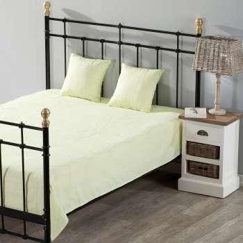 Schlafzimmer Set Milena lime green 260x250cm Plaid + 2 Kissenhüllen