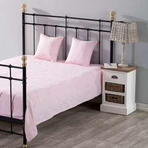 Komplet Milena pink rosa 150x250cm pled + 2 poszewki 150x250cm