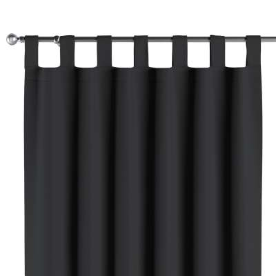 Verdunklungsvorhang mit Schlaufen 269-99 schwarz Kollektion Blackout (verdunkelnd)