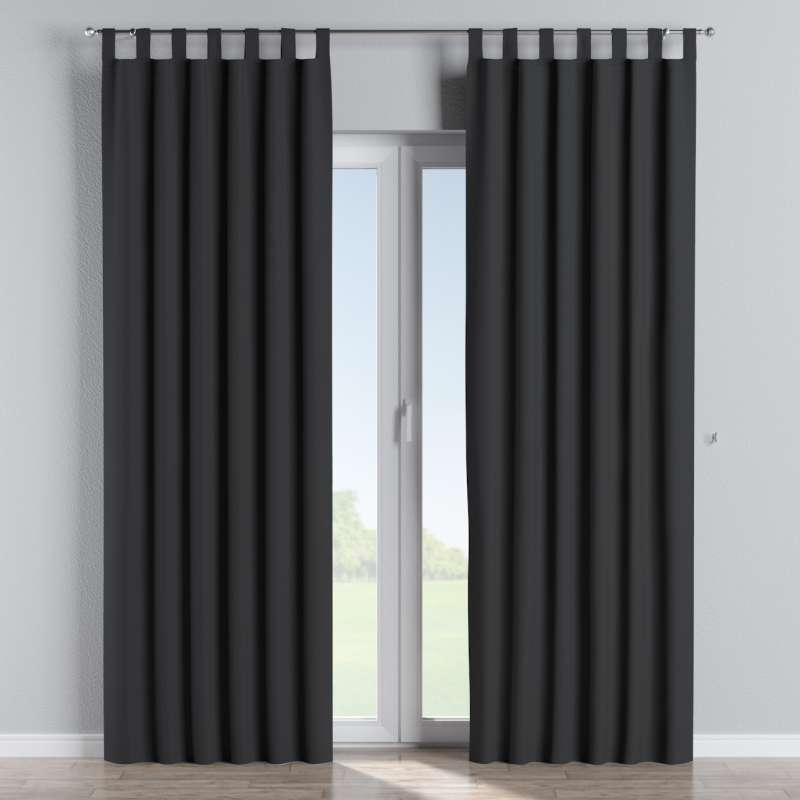 Lystet gardin med stropper fra kolleksjonen Blackout (mørklegging), Stoffets bredde: 269-99