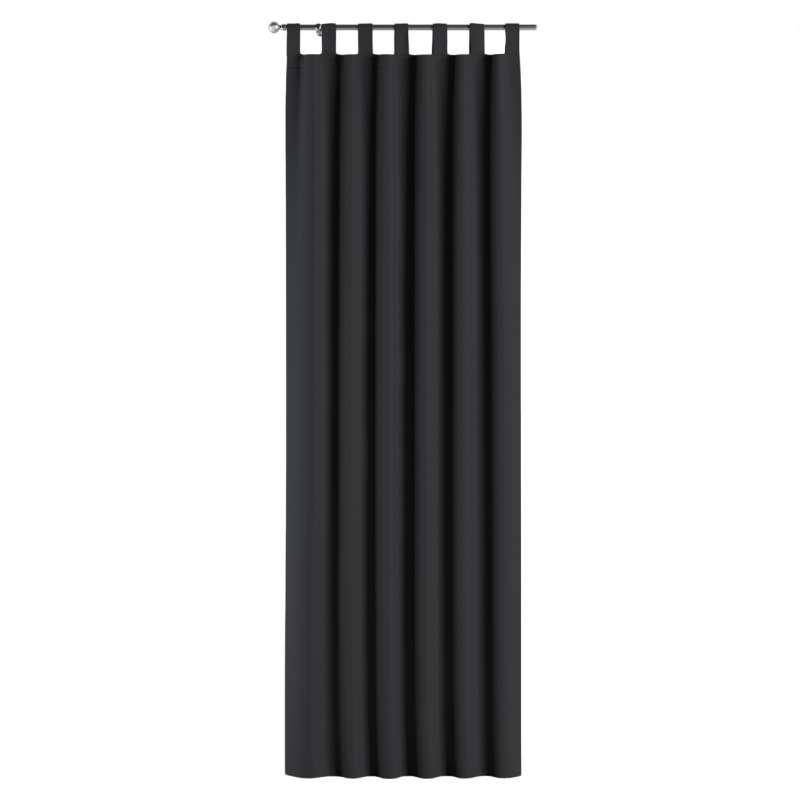 Mørklægningsgardin med stropper 1 stk. fra kollektionen Blackout mørklægning, Stof: 269-99