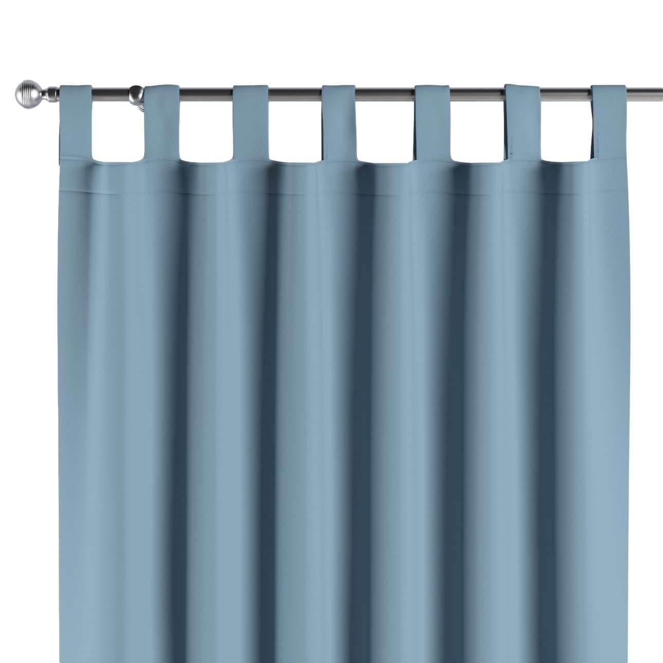 Verdunklungsvorhänge mit Schlaufen 1 Stk. 140x260 cm von der Kollektion Blackout (verdunkelnd), Stoff: 269-08