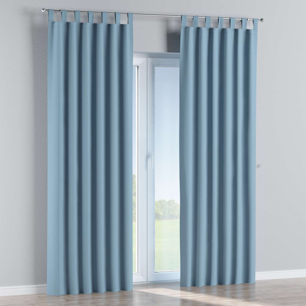 Blackout tab top curtains in collection Blackout, fabric: 269-08