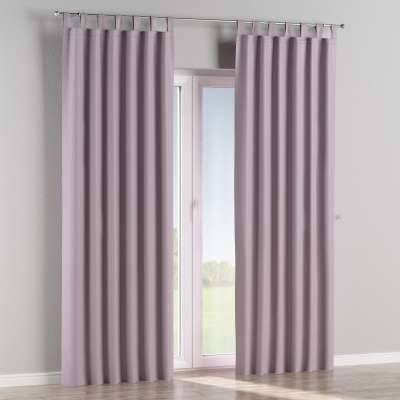 Blackout tab top curtain 269-60 heather Collection Blackout