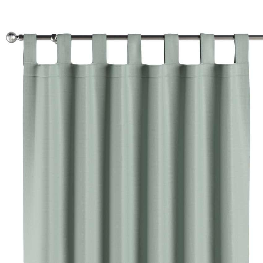 verdunklungsvorhang mit schlaufen mintgr n dekoria. Black Bedroom Furniture Sets. Home Design Ideas