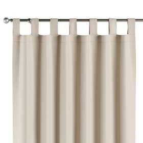 Lystet gardin med stropper