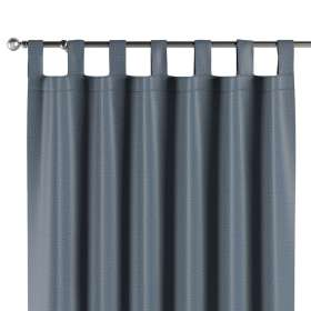 Blackout tab top curtain