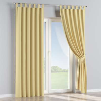 Blackout tab top curtains 269-12 yellow   Collection Royal Blackout