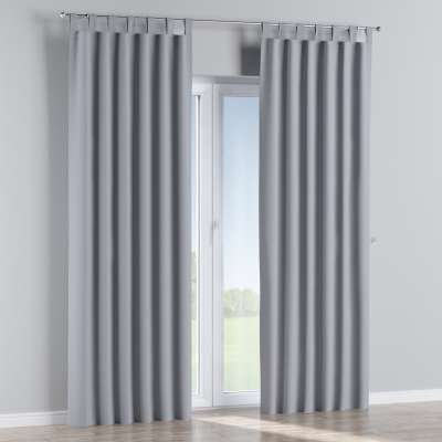 Blackout tab top curtains 269-96 light grey Collection Royal Blackout