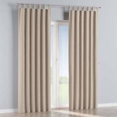 Blackout tab top curtains 269-00 beige Collection Royal Blackout