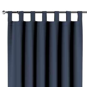 Blackout tab top curtain