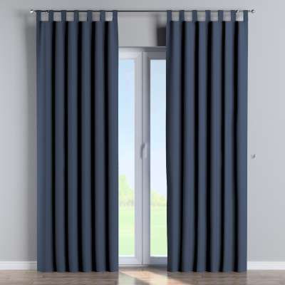 Blackout tab top curtain 269-16 navy blue Collection Blackout