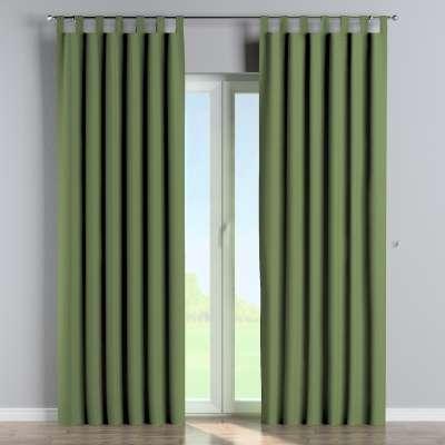 Zasłona zaciemniająca na szelkach 1 szt. 269-15 zielony strukturalny Kolekcja Blackout 280cm