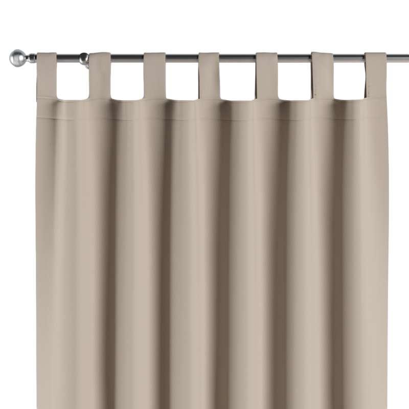 Lystet gardin med stropper fra kolleksjonen Blackout (mørklegging), Stoffets bredde: 269-00