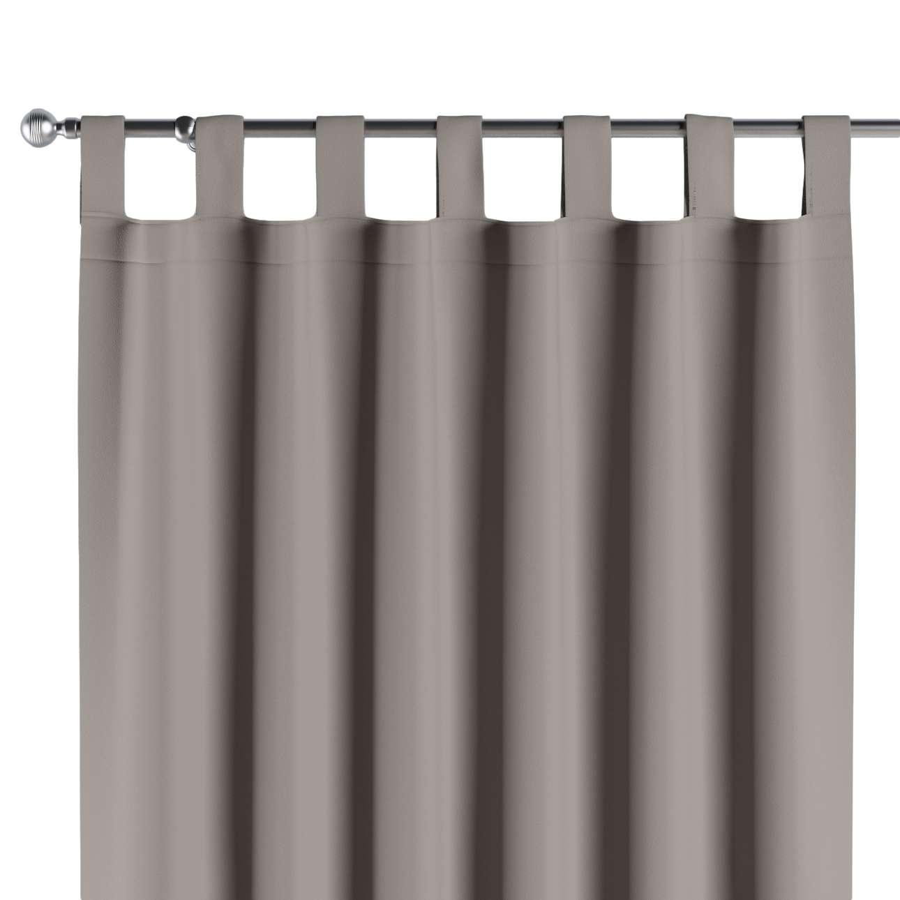 Blackout tab top curtains, light brown, 140 x 260 cm (55 x 102 ...