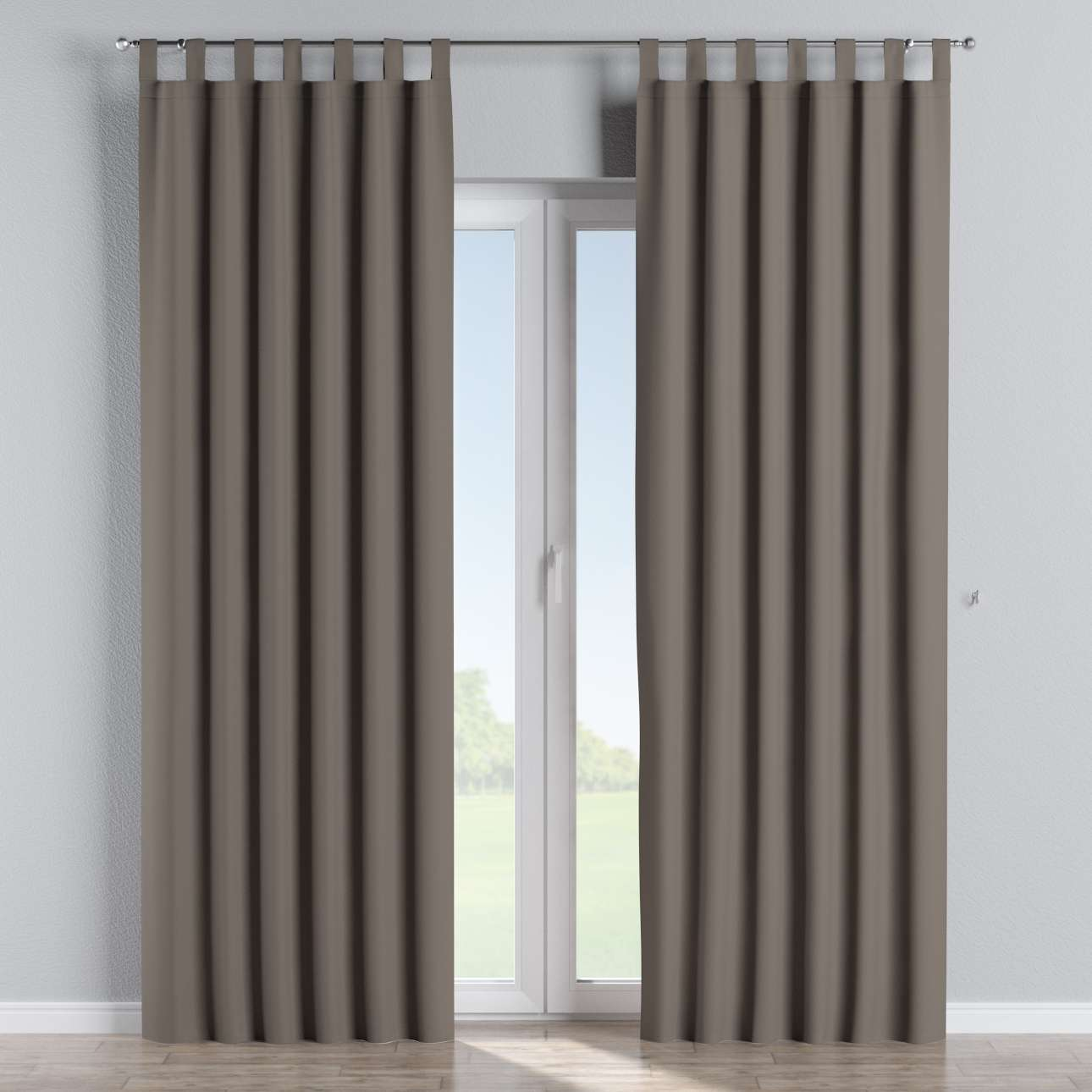 Blackout tab top curtains 140 x 260 cm (55 x 102 inch) in collection Blackout, fabric: 269-80