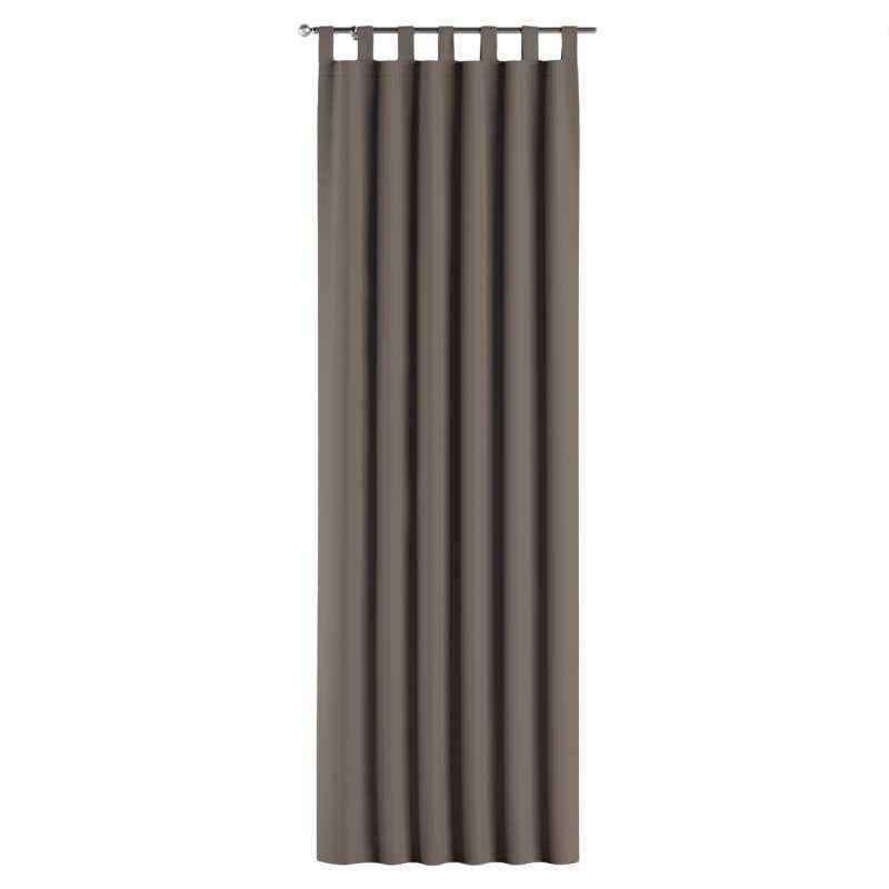 Lystet gardin med stropper fra kolleksjonen Blackout (mørklegging), Stoffets bredde: 269-80