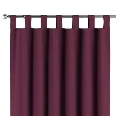 Mörkläggande gardin med hällor  - Dekoria.se