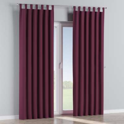 Blackout tab top curtain 269-53 purple Collection Blackout