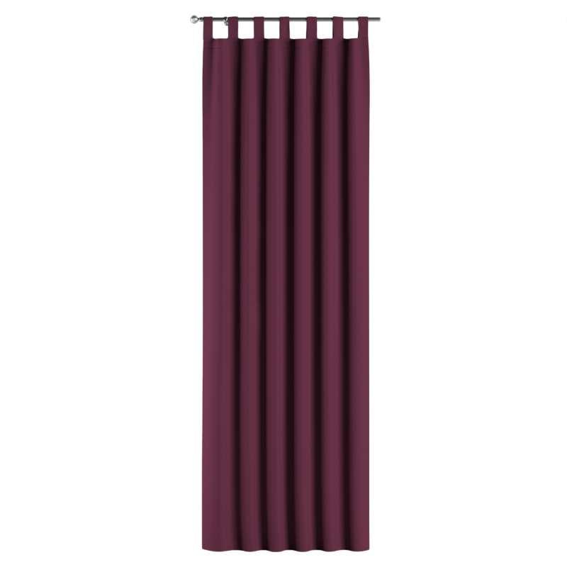 Lystet gardin med stropper fra kolleksjonen Blackout (mørklegging), Stoffets bredde: 269-53
