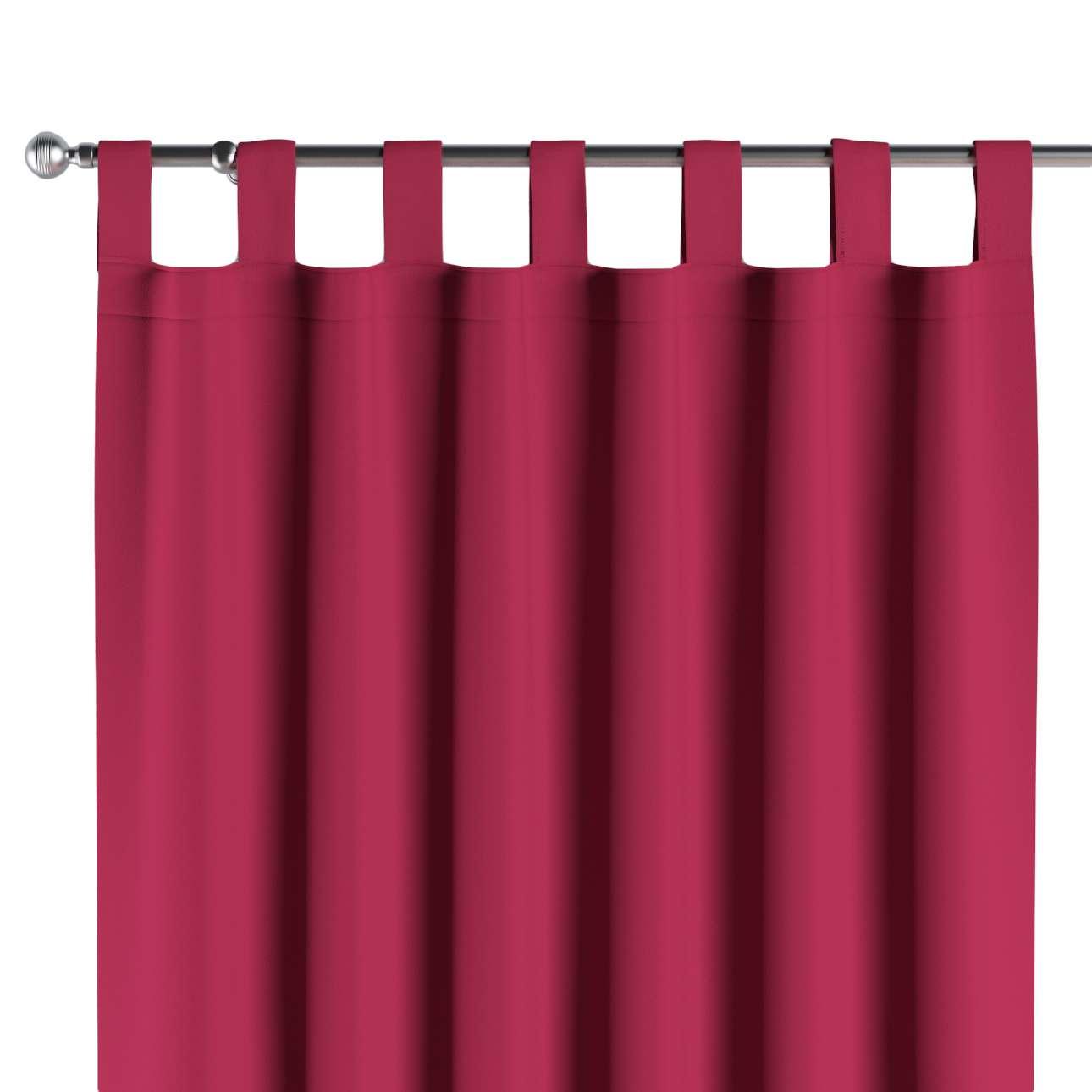verdunklungsvorhang mit schlaufen burgund dekoria. Black Bedroom Furniture Sets. Home Design Ideas