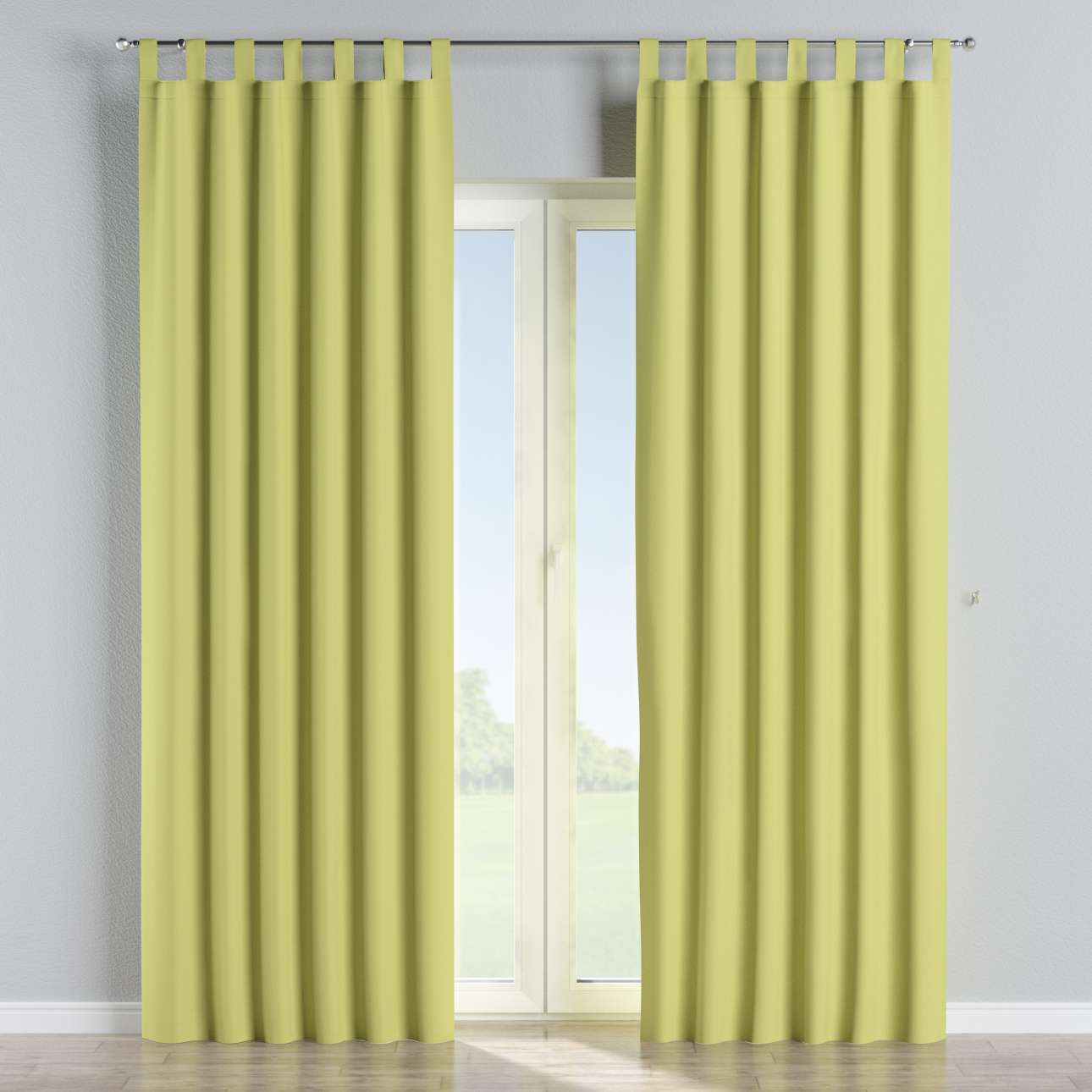 Blackout tab top curtains in collection Blackout, fabric: 269-17