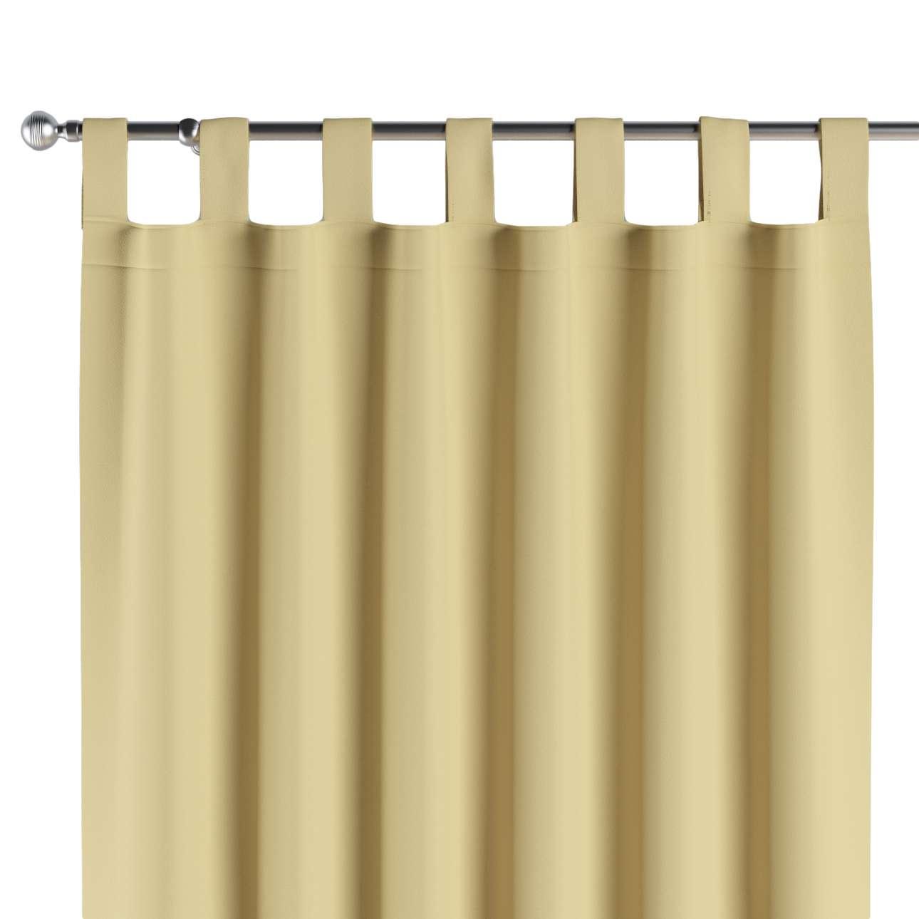 Verdunklungsvorhänge mit Schlaufen 1 Stk. 140x260 cm von der Kollektion Blackout (verdunkelnd), Stoff: 269-12