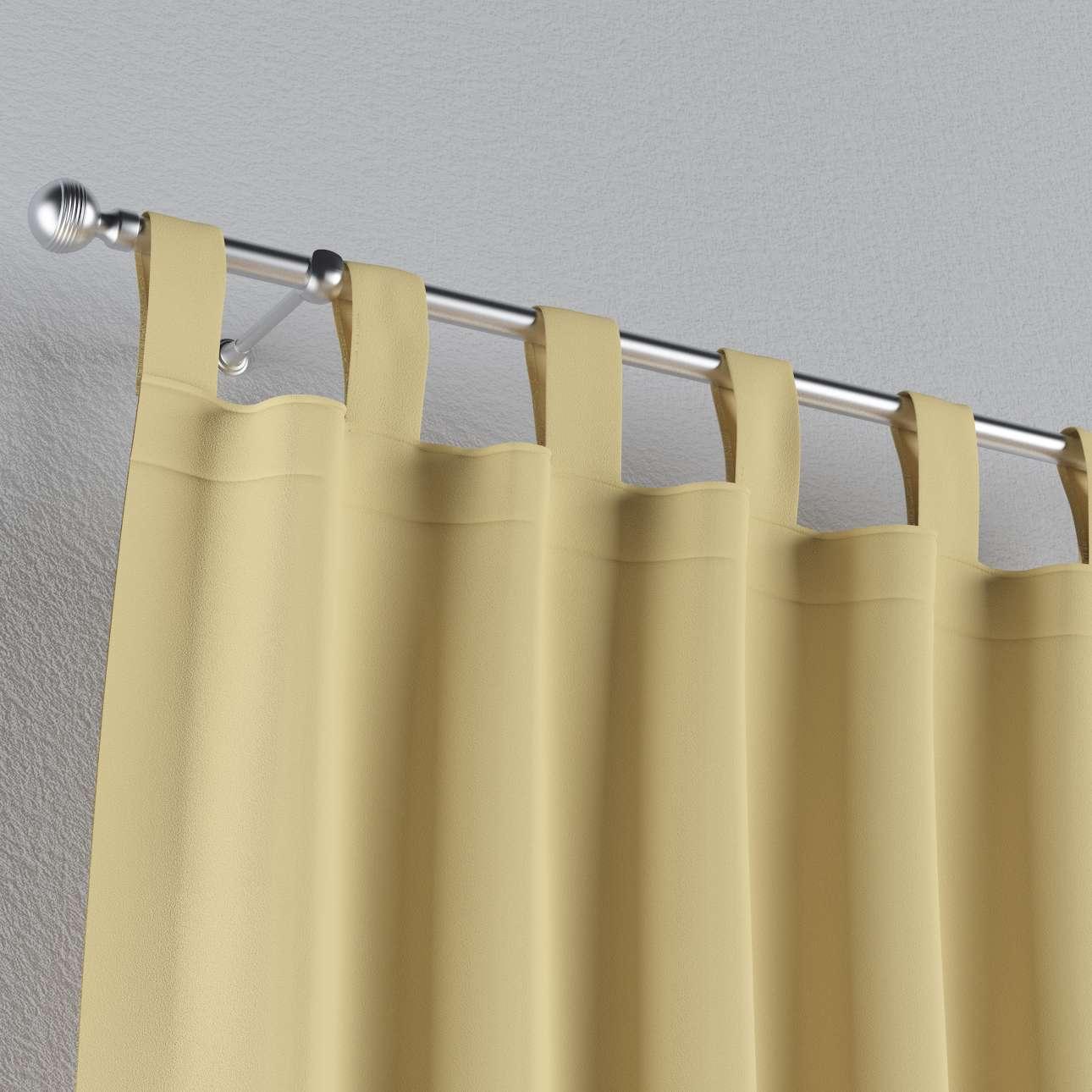 Zasłona zaciemniająca na szelkach 1 szt. 1szt 140x260 cm w kolekcji Blackout - zaciemniające, tkanina: 269-12