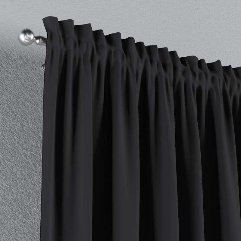 Zatemňujúci záves s navliekacou riasiacou páskou V kolekcii Blackout - zatemňujúca, tkanina: 269-99