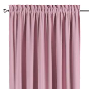 Blackout slot and frill curtains in collection Blackout, fabric: 269-92