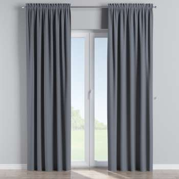 Blackout slot and frill curtains in collection Blackout, fabric: 269-76