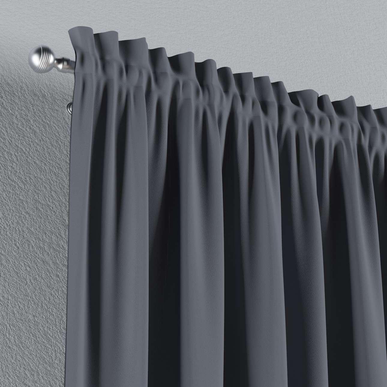 Gardin lystet med løpegang - Multibånd 140×260 cm fra kolleksjonen Blackout (mørklegging), Stoffets bredde: 269-76