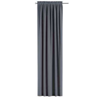 Zatemňujúci záves s navliekacou riasiacou páskou V kolekcii Blackout - zatemňujúca, tkanina: 269-76
