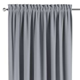 Blackout slot and frill curtains