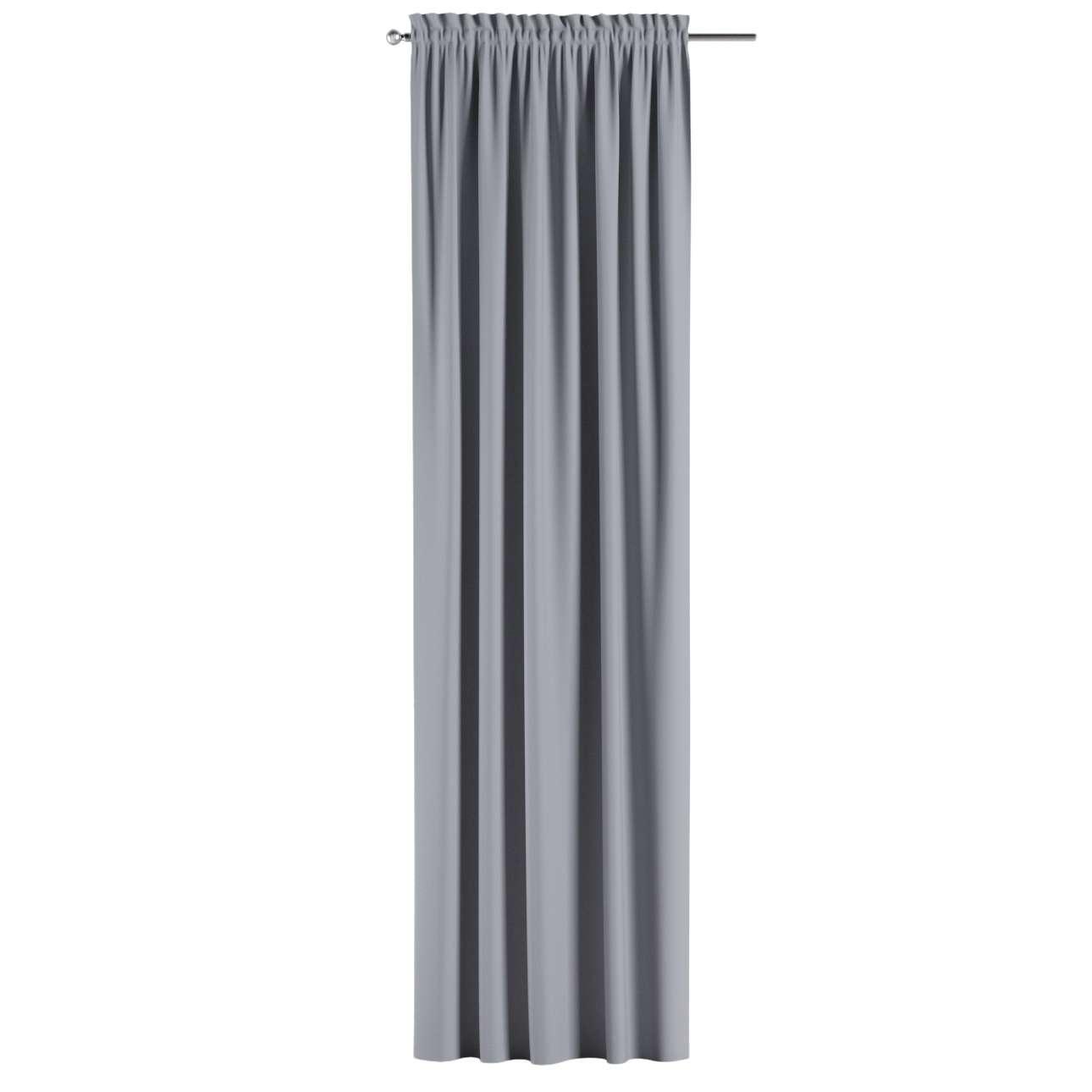 Zatemňujúci záves s navliekacou riasiacou páskou V kolekcii Blackout - zatemňujúca, tkanina: 269-96