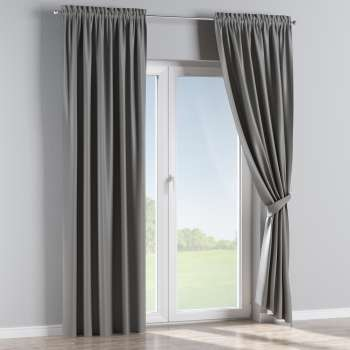 Blackout slot and frill curtains in collection Blackout, fabric: 269-63