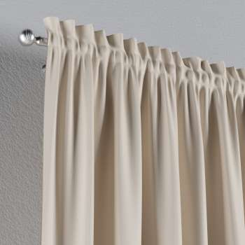 Blackout slot and frill curtains 140 x 260 cm (approx. 55 x 102 inch) in collection Blackout, fabric: 269-66